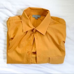 Cos Stores Button-Up Short Sleeve Shirt - Size M